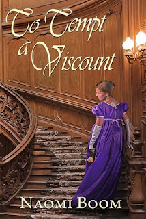 to tempt a viscount, naomi boom, book, series, romance, historic, regency