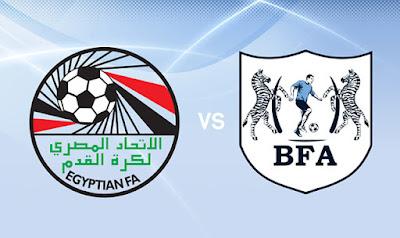 مشاهدة مباراة مصر وبتسوانا بث مباشر اليوم 14 10 2019 في