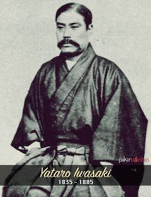 Biografi Yataro Iwasaki - Pendiri Mitsubishi        Yataro Iwasaki adalah pendiri Mitsubishi (岩崎 弥太郎 Iwasaki Yatarō, 9 January 1835 – 7 February 1885) Ia dilahirkan dalam sebuah keluarga petani di provinsi Aki, Provinsi Tosa (sekarang Kochi). Putra dari seorang petani sederhana, Yataro memulai karirnya bekerja pada klan Tosa. Klan diadakan di banyak tempat di Jepang unutk kepentingan bisnis, supaya merangsang anak muda untuk berambisi membangun perekonomian yang baik.   Yataro memulai karirnya bekerja pada klan Tosa, ia pergi ke Edo (kini Tokyo) ketika berusia sembilan belas tahun bertujuan mencari pendidikan. Cedera serius yang dialami ayahnya dalam suatu perselisihan dengan kepala desa membuat Yataro pulang dari Edo setahun kemudian dan sebentar cuti dari studinya. Hakim setempat menolak memproses kasus dari ayahya dan Yataro menuduh hakim korupsi. Ia dikirim ke penjara selama tujuh bulan. Setelah dibebaskan ia tidak memiliki pekerjaan untuk sementara waktu sebelum menemukan pekerjaan sebagai guru sekolah desa.   Kembali ke Edo, ia disosialisasikan dengan aktivis politik dan belajar di bawah reformis Yoshida Toyo, yang terpengaruh dengan ide-ide tentang membuka dan mengembangkan perekonomian bangsa melalui industri dan perdagangan luar negeri. Tak lama kemudian, melalui Yoshida, ia mendapatkan pekerjaan sebagai juru tulis bagi pemerintah