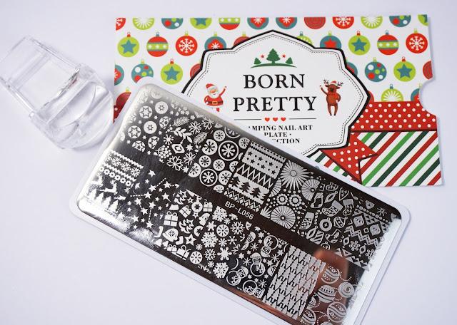 Born Pretty Store, X-Mas Stamping Plate, Christmas, Weihnachten, Platte
