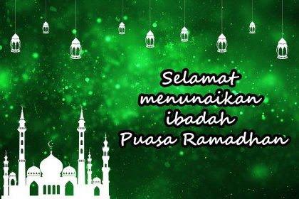 Puasa di bulan suci Ramadhan