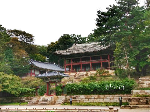 paviliun juhamnu di Changdeokgung Palace & Secret Garden/Huwon (창덕궁과 후원)