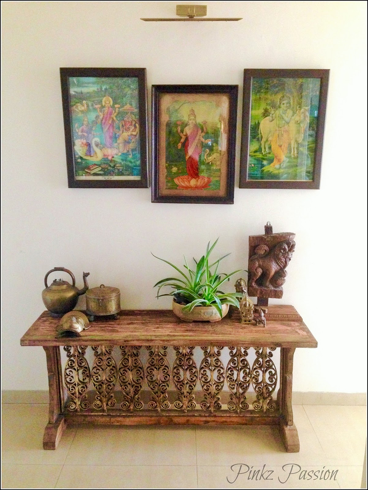 Pinkz passion a vintage modern home tour shalaka pingale for Contemporary indian home decor