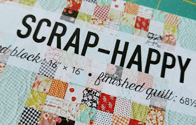 Scrap Happy quilt pattern from Charm School book