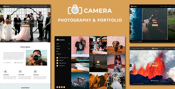Best Photography and Portfolio Joomla Template