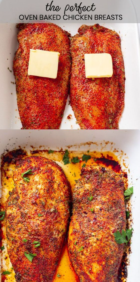 Chicken Breast Recipes - Perfect Oven Baked Chicken Breast