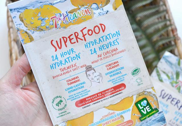 7th Heaven Superfood Mask Turmeric