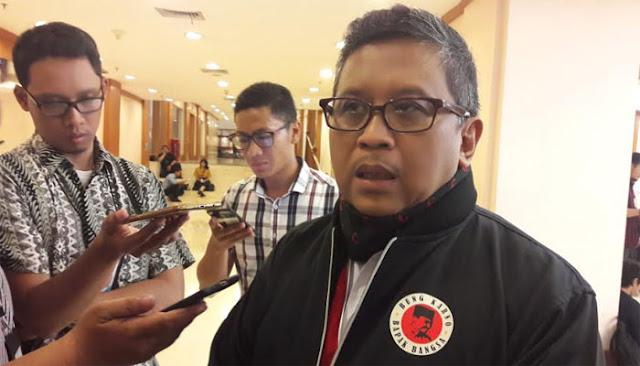 Hasto Sebut Warna Hitam Cermin Politik Hoax, Seknas Prabowo: Yang Percaya Hasto Siapa?