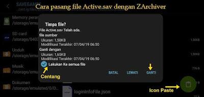 Cara Pasang File Active.sav PUBG Mobile untuk Xiaomi Redmi Note 4 / 4X
