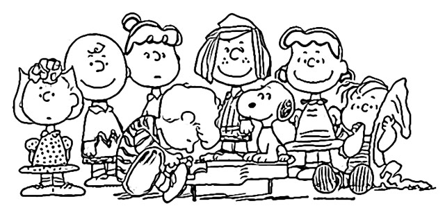 Snoopy coloring pages holiday.filminspector.com