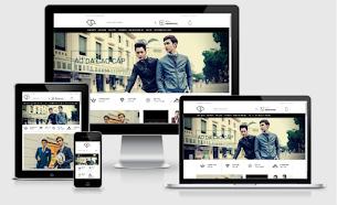 FashionShop Ecommerce Blogger Store Theme - Responsive Blogger Template
