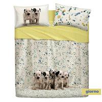 Funny Dogs Bassetti Imagine. Juego de cama