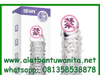 Alat Bantu Wanita Kondom Gerigi Dragon Scales