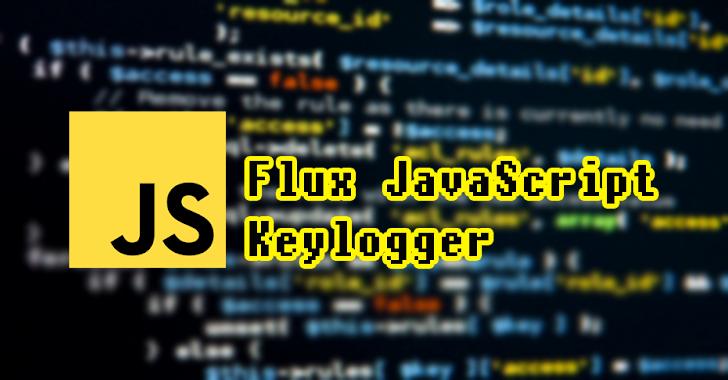 Flux-Keylogger : Modern Javascript Keylogger With Web Panel
