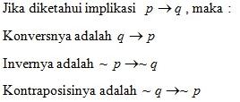 Rumus Logika Matematika