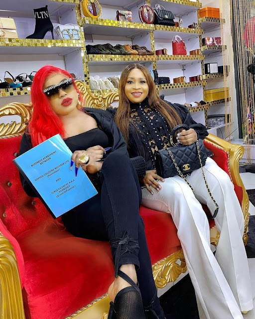 Bobrisky Signs Another Multi-Million Naira Endorsement Deal With A Fashion Designing Agency