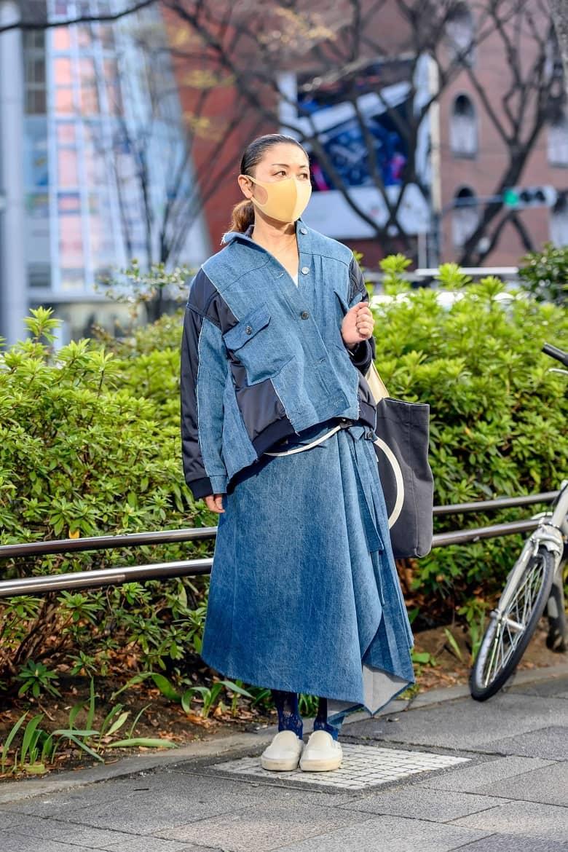 Tokyo Fashion Week Fall 2021 Street Styles