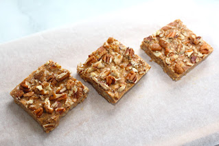 22 Keto-Friendly Desserts - Keto Peanut Butter Pecan Bars
