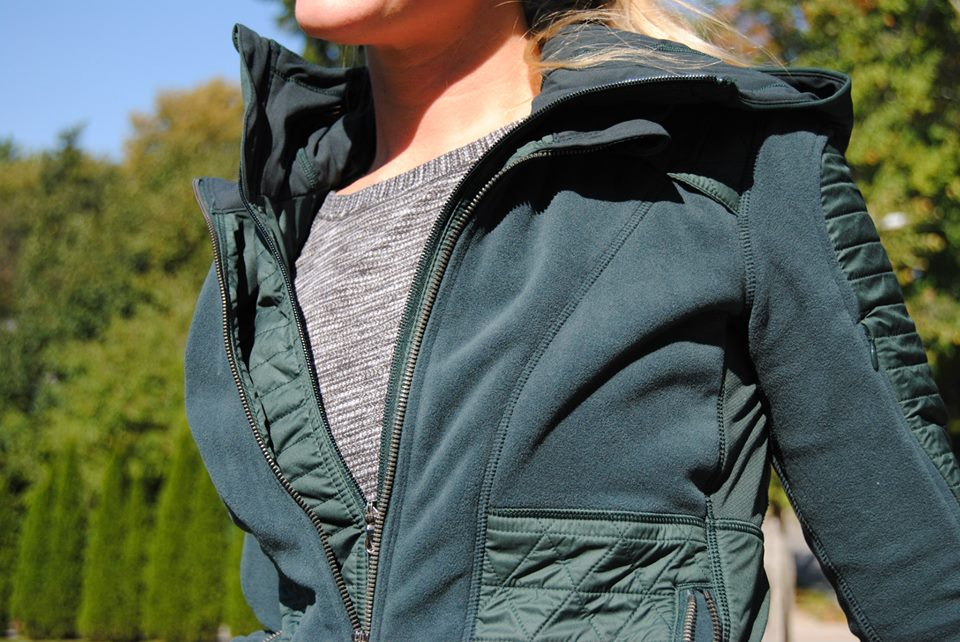lululemon fleecy-keen jacket