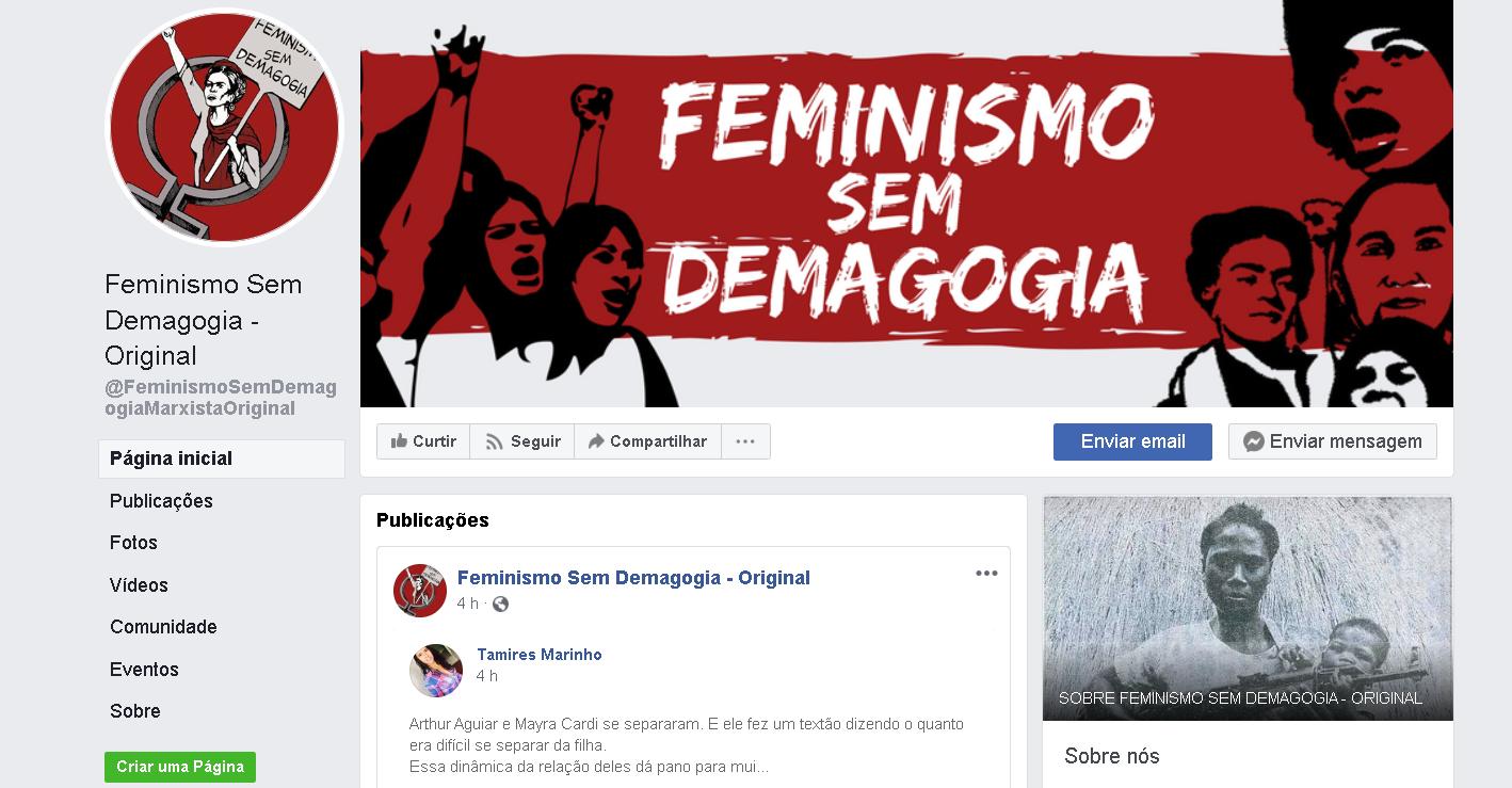 Página com 1 milhão de seguidores vai compartilhar artigos feministas do blog