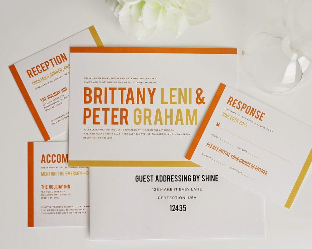 Chosing Your Contemporary Wedding Invitations