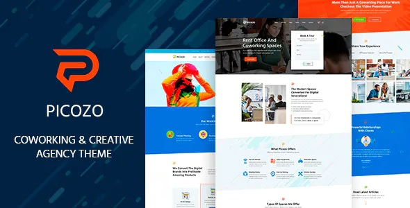 Coworking and Office Space WordPress Theme