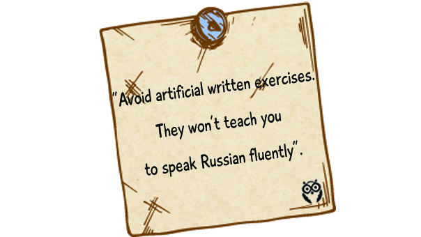 effective ways to start speaking Russian fluently