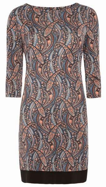 Primark online: vestido con estampado de cachemir