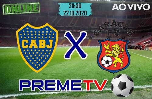 Boca Juniors x Caracas Ao Vivo