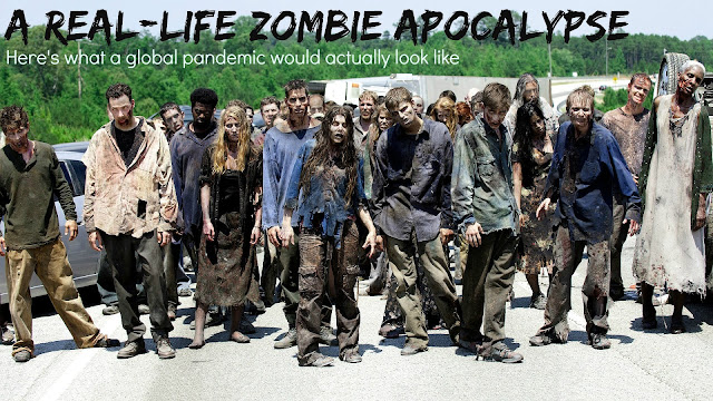 In 100 Days: Real-life Zombie Apocalypse Would Totally Wipe Out The Human Race