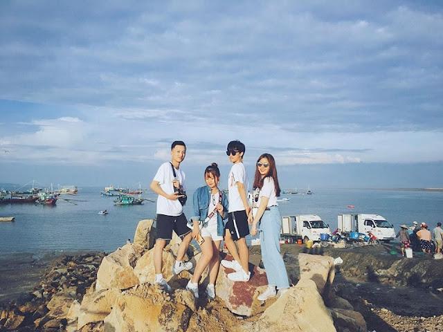 Đảo Cái Chiên Quảng Ninh đẹp bình yên qua ảnh check-in của giới trẻ 11