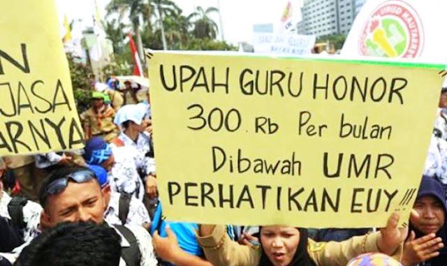 Pekerja Disubsidi Rp 600 Ribu, Koordinator Honorer K2: Astaghfirullah, Kenapa Jokowi Enggak Adil Begini