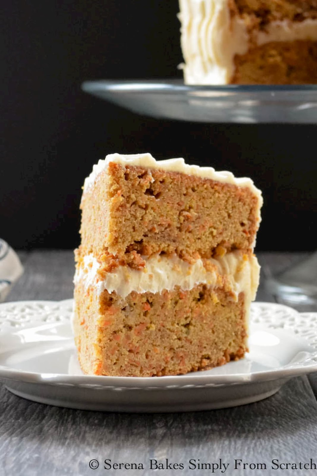Carrot Cake with Pineapple and Cream Cheese Frosting