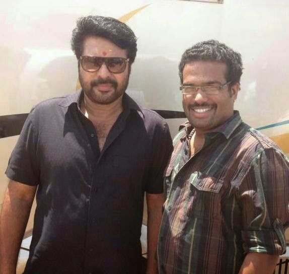 Akhil Paul with Mammootty for an action thriller