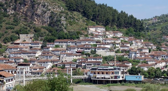 City of Berat, Albania