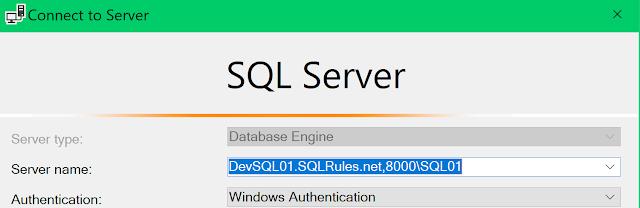 SQLServerConnection