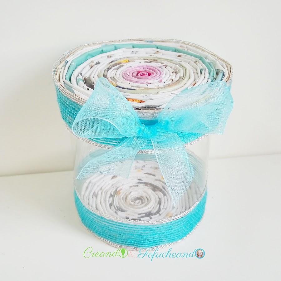 cómo-hacer-1-caja-de-caramelos-con-tubos-de-papel-y-1-botella-de-plástico-creandoyfofucheando