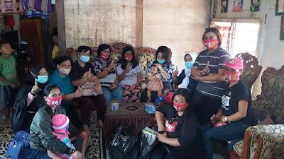 Srikandi Theza Kunjungi Balita yang Menderita Gangguan Saraf di Bittuang