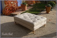 palette bois table chesterfield ottoman coffee table