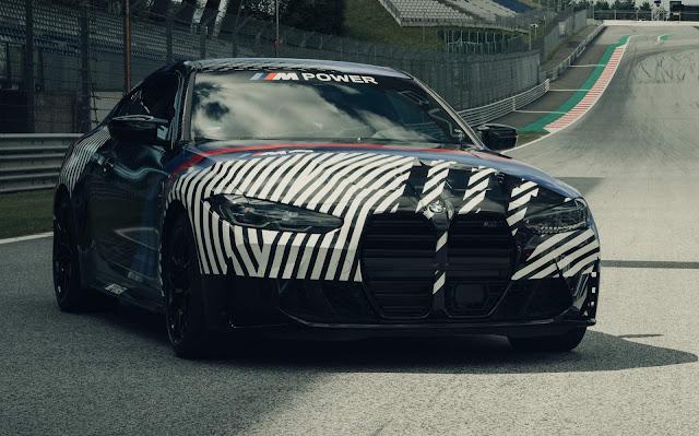 Novos BMW M4 Coupé e BMW M4 GT3 apresentados na Áustria