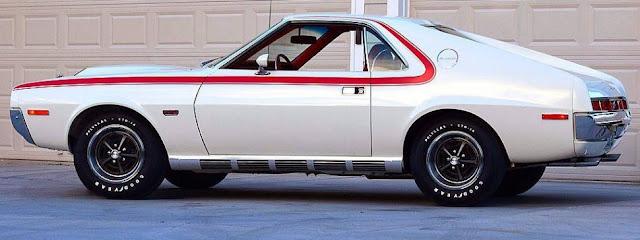 AMC AMX 1970s American classic muscle car
