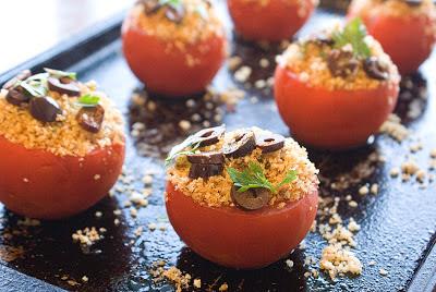 Broiled Tomatoes, Arriabiata-Style