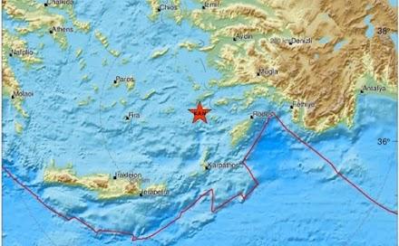 Έκτακτο: Ισχυρή σεισμική δόνηση στην Κώ