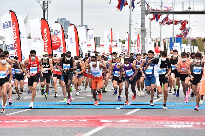 Vodafone 15. İstanbul Yarı Maratonu tamamlandı