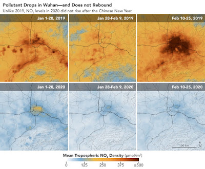 jakosc powietrza NASA