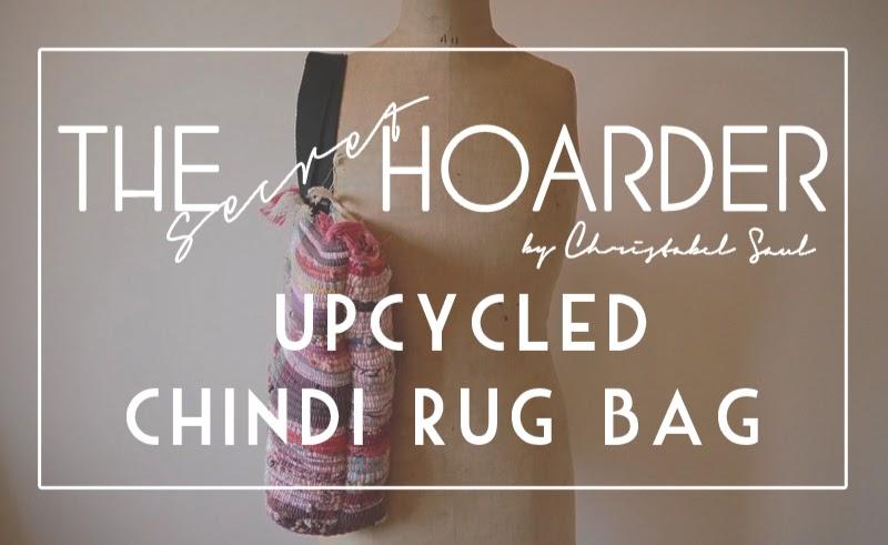 Diy Upcycle Chindi Rug Bag The Secret Hoarder