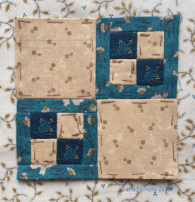 Dear Jane Quilt - Block M5 Mother's Point