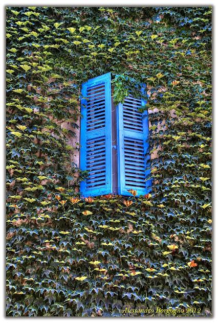 Marsiglia, finestra blu
