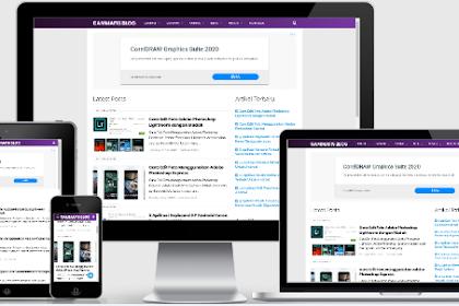 Template Blogger Premium Terbaik Untuk Daftar Google Adsense