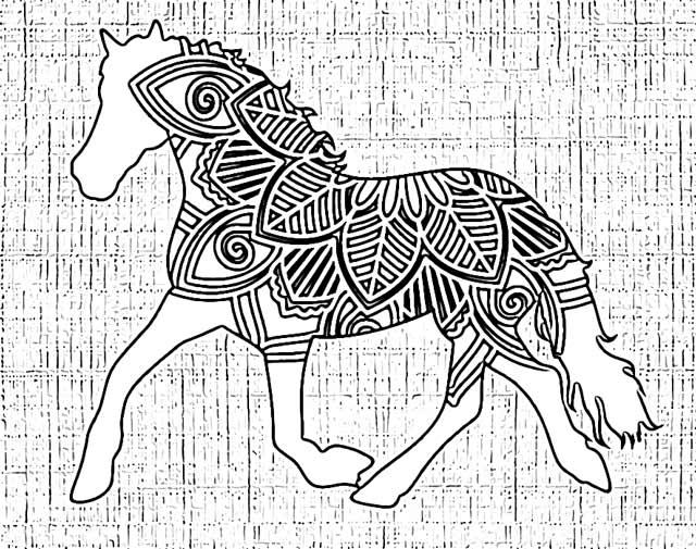 horse mandala coloring pages holiday.filminspector.com